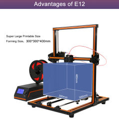 Anet Biggest Print Size Fashion 5mins Easy Assembly Wholesale DIY 3D Printer
