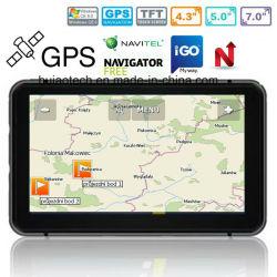 "Factory Sale 7.0"" Car Truck Marine GPS Navigation with Wince 6.0 GPS Navigation System, FM, AV Parking Rear Camera, GPS Navigator Tracking Antenna, Bluetooth"
