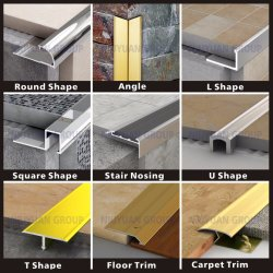 High Quality Factory Direct Metal Flexible Tile Trim Aluminum Corner Stainless Steel