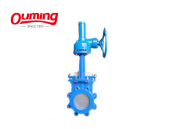 Water Solenoid 3 Way Flow Control Kgd Bevel Gear Slurry Knife Gate Valve