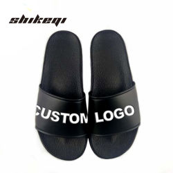 b73a84ebc702f Shikeqi Men Plain Slide Sandal Custom Logo