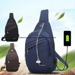 Wholesale Breast Sports Backpack Retro-Charging South-Korean Single Shoulder Laptop Bag