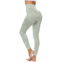 Woman Fitness Yoga Top High Waisted Workout Leggings Yoga Wear Sport Clothing Set