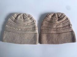 Popular Winter Fashion Adult Knitted Acrylic Wool Nylon Beanie/Cap