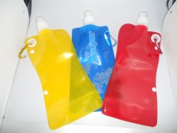 PE Sports Water Bag with Clip