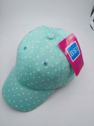 New Fashion Cotton Chidren's Baseball Cap / Sports Cap with Full Print and Strass