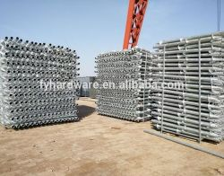 Ce Certification for Galvanized Helical Ground Mounting Screw Piles