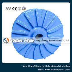 Wear Resistant / Corrosion Resistant Slurry Pump Part Impeller