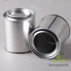 1 Pint/Quart Chemical Tin Can Mini Pail