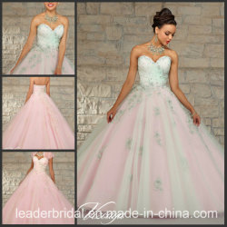 4cb71c9073f Sweetheart Tulle Prom Ball Gown Embroidered Sequins Evening Quinceanera  Dress Ld152101