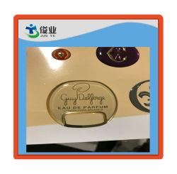 Lovely Heart Shaped Laser Film Label Stickers on Sheet