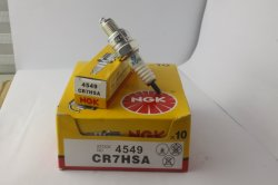 Spark Plug Motorcycle Parts for Ngk Cr7hsa 4549