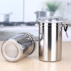 Charmant Kitchen Stainless Steel Storage Container 4 PCS Set