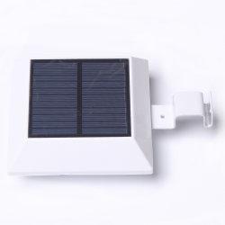 Square Outdoor Solar Garden 6 LED PIR Motion Sensor Solar Lamp