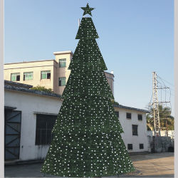 larger building decoration string light led christmas tree artificial