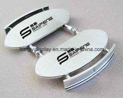 Silver Color Shoes Bracket for Retail Shop