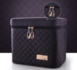Large-Capacity Korean Cosmetic Bag Multi-Function Layer Portable Portable Cosmetics Storage Box