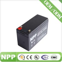 12V7ah AGM Rechargeable Sealed Lead Acid Battery for Security Alarm System Sealed Maintenance Free Lead Acid UPS Battery VRLA SLA Battery