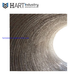 Hardfacing/Cladding/Clad Chromium Carbide Overlay Wear Resistant Mud Slurry Sand Gas Oil Dredger Pipe