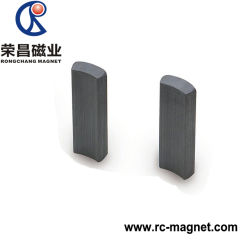 ISO Certificated High Quality Ferrite Arc Shape Magnet for Sale