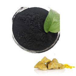 Gold Extraction Water Treatment Chemicals Silver Coated Activated Carbon Grain