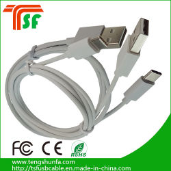 Mfi Factory Wholesale White USB 2.0 Type C USB Data Charge Cable