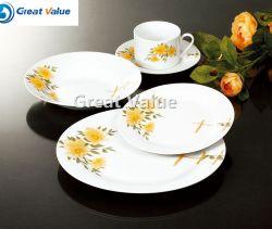20PCS Cheap Bulk Ceramic Plates Round & China Bulk Ceramic Plates Bulk Ceramic Plates Manufacturers ...