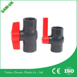 Plastic Material PVC Ball Valve for Supply Water