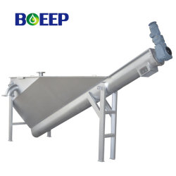 Mechanical Classifier for Grit Removal System in Sewage Treatment Plant