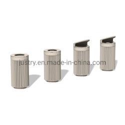 Metal Waste Bin Garbage Dust Trash Can