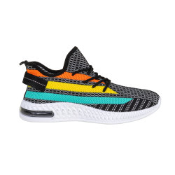 New Style Flyknit Light Sports Men's Shoes with Mesh Upper