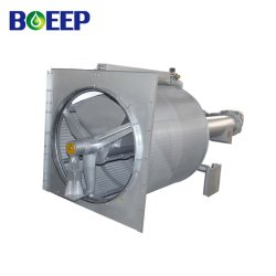 ISO/SGS/Ce Water Solid Liquid Separator with Wedge Wire Screen Rotary Drum Filter