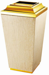 Cone Titamium Sunny Yellow Trash Bin (YH-013)