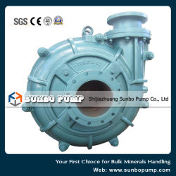 Zj Series Hydraulic Centrifugal Slurry Pump for Heavy Duty Mineral Processing