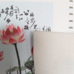 Printed Cotton and Linen Lines Wall Cloth for Home Decoration
