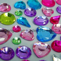 Acrylic Crystal Diamond Rhinestone Stickers for Wholesale