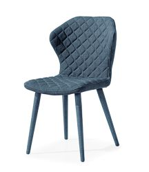 Dining Side Chairs Modern Elegant Fabric Kitchen Different Color Wholesale