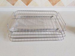 2 Layers Metal Wire Kitchen Dish Rack
