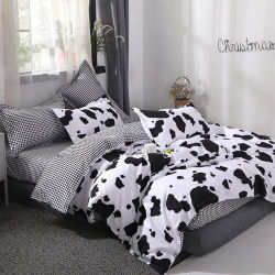 China Home Textile Wholesale Exporter Printed Polyester Duvet Cover Bedsheet Bedding Set