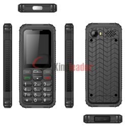 IP68 Dual-SIM Rugged Waterproof Cell Phone with Ce (W136)