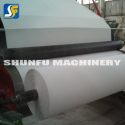 Chinese Supplier Production Tissue Parent Reels Paper Recycling Machine Prices