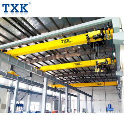 Factory Direct Sales Txk 3t European Style Single Girder Eot Crane with Nord Motor
