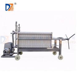 Food Grade Slurry Dewatering Stainless Steel Filter Press Machine