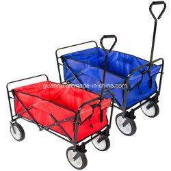 Collapsible Folding Wagon Cart Garden Buggy Shopping Gift Toy Sports