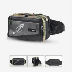 Manufacturer Lure Sports Belt Outdoor Multi-Function Fishing Backpack Bag