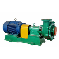 Uhb-Zk Single Stage End Suction Fluorine Plastic Lined Slurry Pump
