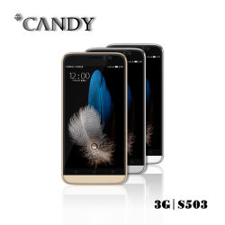 5.0 Inch Qhd with Double Camera 2.5D Arc Glass Smartphone