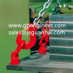 Rotary Ring with Ball Gearing for Lifting Equipment