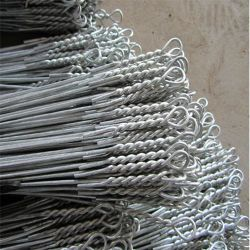 China Factory Sell Cheap Electro Galvanized Loop Ends Bale Ties, Bale Wire