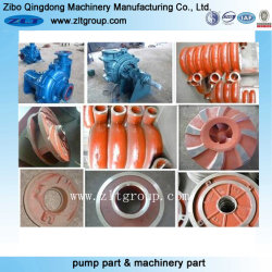 Sand Casting Slurry Pump Parts in High Chrome for Mining Industry